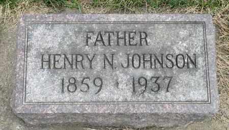 JOHNSON, HENRY N. - Minnehaha County, South Dakota | HENRY N. JOHNSON - South Dakota Gravestone Photos