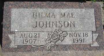 JOHNSON, HILMA MAE - Minnehaha County, South Dakota | HILMA MAE JOHNSON - South Dakota Gravestone Photos