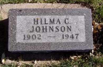 JOHNSON, HILMA C. - Minnehaha County, South Dakota | HILMA C. JOHNSON - South Dakota Gravestone Photos