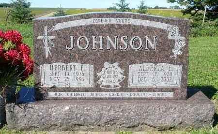 JOHNSON, ALBERTA E. - Minnehaha County, South Dakota   ALBERTA E. JOHNSON - South Dakota Gravestone Photos