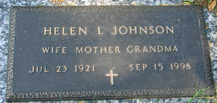 JOHNSON, HELEN L. - Minnehaha County, South Dakota   HELEN L. JOHNSON - South Dakota Gravestone Photos