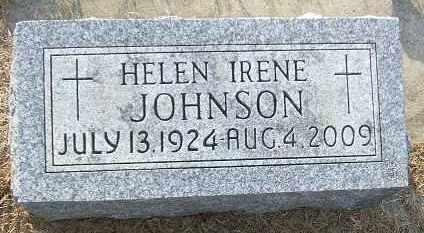 JOHNSON, HELEN IRENE - Minnehaha County, South Dakota   HELEN IRENE JOHNSON - South Dakota Gravestone Photos