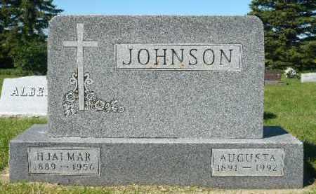 JOHNSON, AUGUSTA - Minnehaha County, South Dakota | AUGUSTA JOHNSON - South Dakota Gravestone Photos