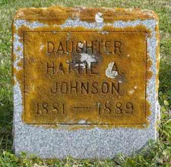 JOHNSON, HATTIE A. - Minnehaha County, South Dakota | HATTIE A. JOHNSON - South Dakota Gravestone Photos