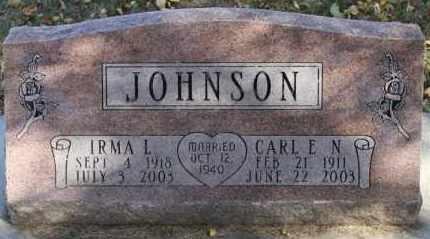 JOHNSON, CARL E.N. - Minnehaha County, South Dakota | CARL E.N. JOHNSON - South Dakota Gravestone Photos