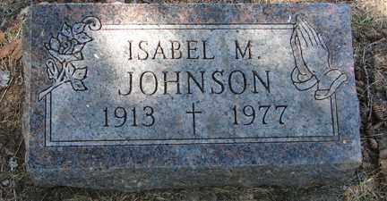 JOHNSON, ISABEL M. - Minnehaha County, South Dakota | ISABEL M. JOHNSON - South Dakota Gravestone Photos