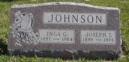 JOHNSON, JOSEPH T. - Minnehaha County, South Dakota | JOSEPH T. JOHNSON - South Dakota Gravestone Photos