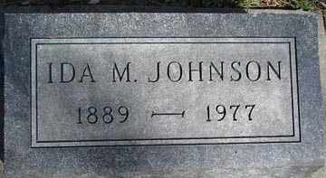 JOHNSON, IDA M. - Minnehaha County, South Dakota | IDA M. JOHNSON - South Dakota Gravestone Photos