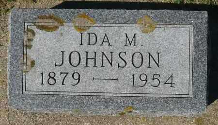 JOHNSON, IDA M. - Minnehaha County, South Dakota | IDA M. JOHNSON - South Dakota Gravestone Photos