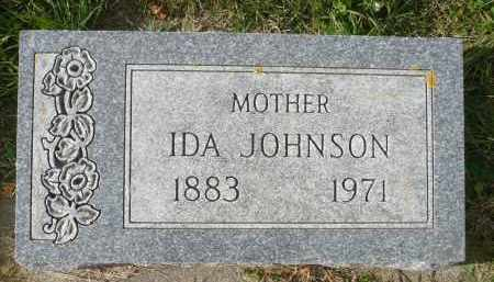 JOHNSON, IDA - Minnehaha County, South Dakota   IDA JOHNSON - South Dakota Gravestone Photos