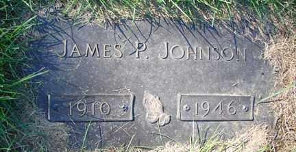 JOHNSON, JAMES P. - Minnehaha County, South Dakota | JAMES P. JOHNSON - South Dakota Gravestone Photos