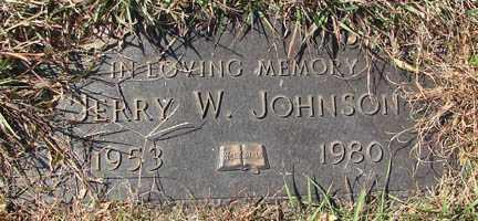 JOHNSON, JERRY W. - Minnehaha County, South Dakota | JERRY W. JOHNSON - South Dakota Gravestone Photos