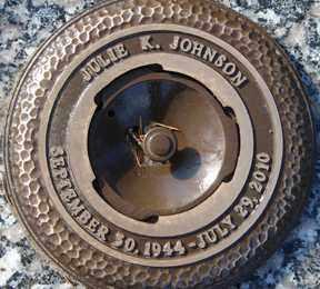 JOHNSON, JULIE K. - Minnehaha County, South Dakota | JULIE K. JOHNSON - South Dakota Gravestone Photos