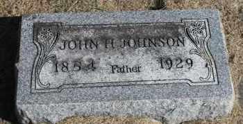 JOHNSON, JOHN H. - Minnehaha County, South Dakota   JOHN H. JOHNSON - South Dakota Gravestone Photos