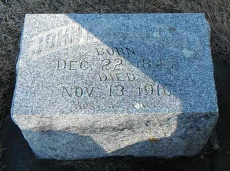 JOHNSON, JOHN E. - Minnehaha County, South Dakota   JOHN E. JOHNSON - South Dakota Gravestone Photos