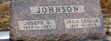 JOHNSON, INGA LOUISE - Minnehaha County, South Dakota   INGA LOUISE JOHNSON - South Dakota Gravestone Photos