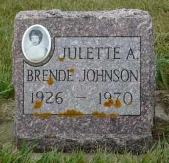 JOHNSON, JULETTE A. - Minnehaha County, South Dakota | JULETTE A. JOHNSON - South Dakota Gravestone Photos