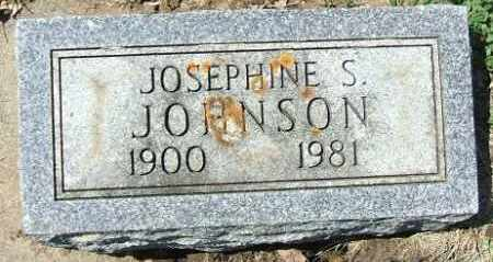 JOHNSON, JOSEPHINE S. - Minnehaha County, South Dakota | JOSEPHINE S. JOHNSON - South Dakota Gravestone Photos