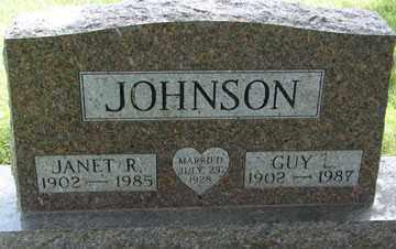 JOHNSON, GUY L. - Minnehaha County, South Dakota | GUY L. JOHNSON - South Dakota Gravestone Photos