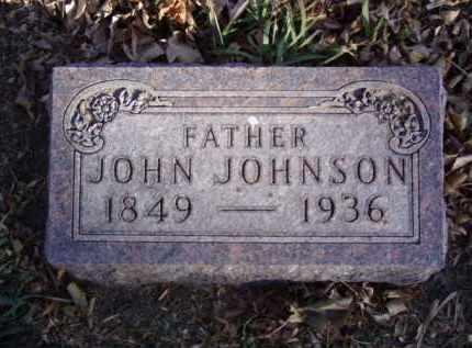 JOHNSON, JOHN - Minnehaha County, South Dakota | JOHN JOHNSON - South Dakota Gravestone Photos