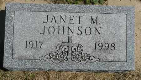 JOHNSON, JANET M. - Minnehaha County, South Dakota | JANET M. JOHNSON - South Dakota Gravestone Photos