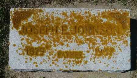 JOHNSON, JOSEPH E. - Minnehaha County, South Dakota | JOSEPH E. JOHNSON - South Dakota Gravestone Photos
