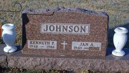 JOHNSON, KENNETH P. - Minnehaha County, South Dakota   KENNETH P. JOHNSON - South Dakota Gravestone Photos