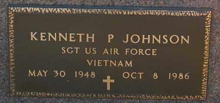 JOHNSON, KENNETH P. (MILITARY) - Minnehaha County, South Dakota | KENNETH P. (MILITARY) JOHNSON - South Dakota Gravestone Photos