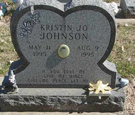 JOHNSON, KRISTIN JO - Minnehaha County, South Dakota | KRISTIN JO JOHNSON - South Dakota Gravestone Photos