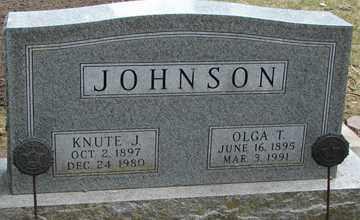 JOHNSON, OLGA T. - Minnehaha County, South Dakota | OLGA T. JOHNSON - South Dakota Gravestone Photos
