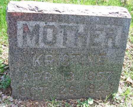 JOHNSON, KRISTINE - Minnehaha County, South Dakota   KRISTINE JOHNSON - South Dakota Gravestone Photos