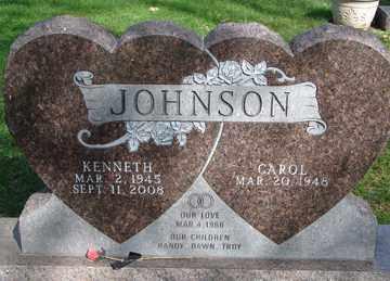 JOHNSON, KENNETH - Minnehaha County, South Dakota | KENNETH JOHNSON - South Dakota Gravestone Photos