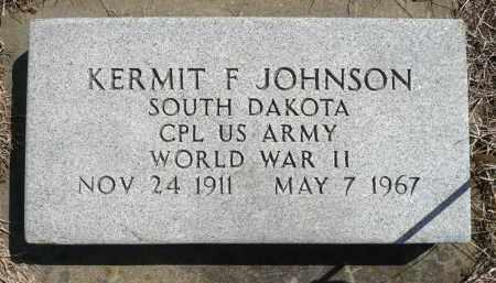 JOHNSON, KERMIT F. (WWII) - Minnehaha County, South Dakota | KERMIT F. (WWII) JOHNSON - South Dakota Gravestone Photos