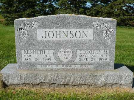 JOHNSON, KENNETH H. - Minnehaha County, South Dakota | KENNETH H. JOHNSON - South Dakota Gravestone Photos