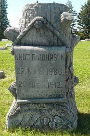JOHNSON, KNUT E. - Minnehaha County, South Dakota | KNUT E. JOHNSON - South Dakota Gravestone Photos