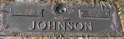 JOHNSON, EBBA A. - Minnehaha County, South Dakota   EBBA A. JOHNSON - South Dakota Gravestone Photos