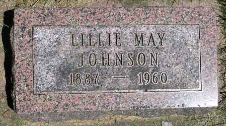JOHNSON, LILLIE MAY - Minnehaha County, South Dakota | LILLIE MAY JOHNSON - South Dakota Gravestone Photos