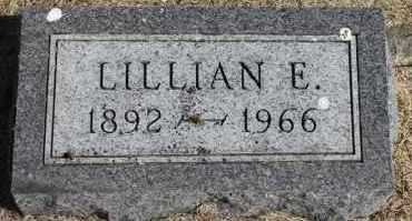 JOHNSON, LILLIAN E. - Minnehaha County, South Dakota | LILLIAN E. JOHNSON - South Dakota Gravestone Photos