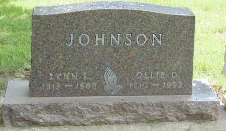 JOHNSON, OLLIE D. - Minnehaha County, South Dakota | OLLIE D. JOHNSON - South Dakota Gravestone Photos