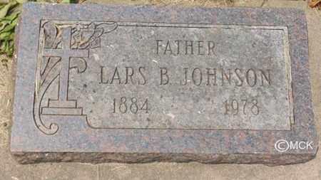 JOHNSON, LARS B. - Minnehaha County, South Dakota | LARS B. JOHNSON - South Dakota Gravestone Photos