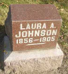 JOHNSON, LAURA A. - Minnehaha County, South Dakota | LAURA A. JOHNSON - South Dakota Gravestone Photos