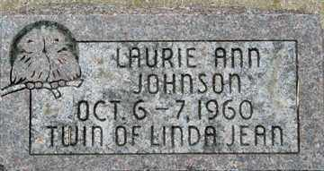 JOHNSON, LAURIE ANN - Minnehaha County, South Dakota | LAURIE ANN JOHNSON - South Dakota Gravestone Photos