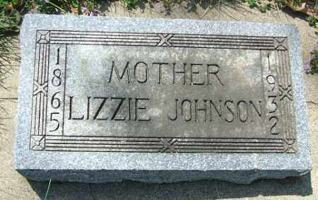 JOHNSON, LIZZIE - Minnehaha County, South Dakota   LIZZIE JOHNSON - South Dakota Gravestone Photos