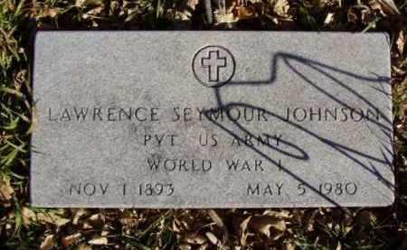 JOHNSON, LAWRENCE SEYMOUR - Minnehaha County, South Dakota | LAWRENCE SEYMOUR JOHNSON - South Dakota Gravestone Photos