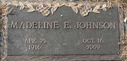 JOHNSON, MADELINE E. - Minnehaha County, South Dakota | MADELINE E. JOHNSON - South Dakota Gravestone Photos
