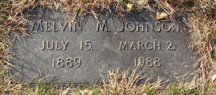 JOHNSON, MELVIN M. - Minnehaha County, South Dakota | MELVIN M. JOHNSON - South Dakota Gravestone Photos