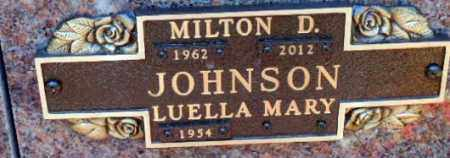 JOHNSON, LUELLA MARY - Minnehaha County, South Dakota | LUELLA MARY JOHNSON - South Dakota Gravestone Photos