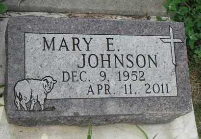 JOHNSON, MARY E. - Minnehaha County, South Dakota | MARY E. JOHNSON - South Dakota Gravestone Photos