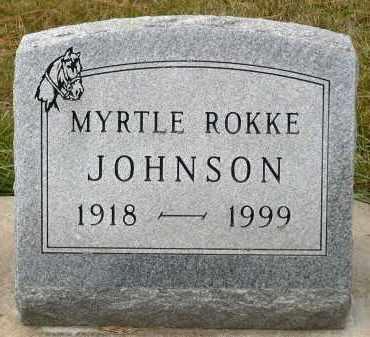 ROKKE JOHNSON, MYRTLE - Minnehaha County, South Dakota | MYRTLE ROKKE JOHNSON - South Dakota Gravestone Photos