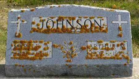 JOHNSON, MYRTLE - Minnehaha County, South Dakota | MYRTLE JOHNSON - South Dakota Gravestone Photos